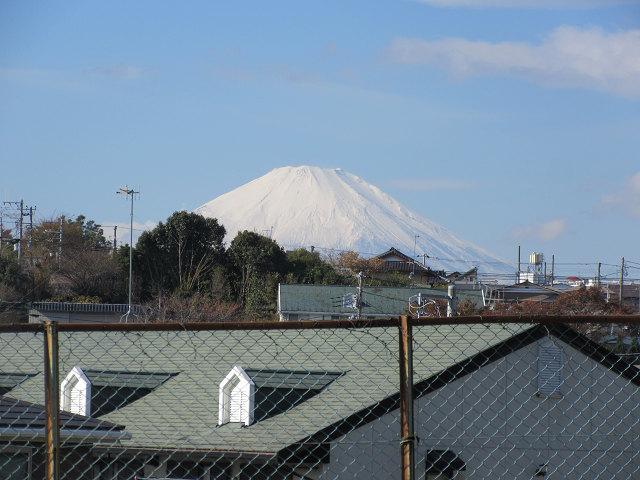 途中「富士山」が綺麗に見えてきました