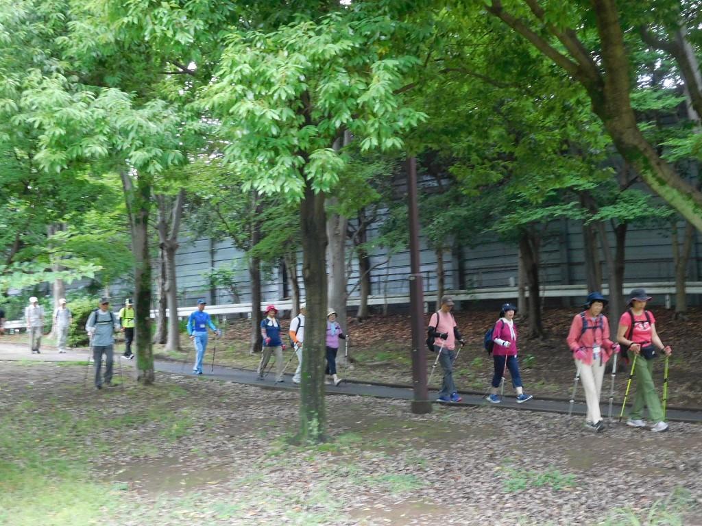 荏田猿田公園到着
