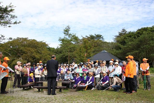 箱根町長さんの挨拶 流石にKNWCの力ですね町長さんか来られるなんて・・・