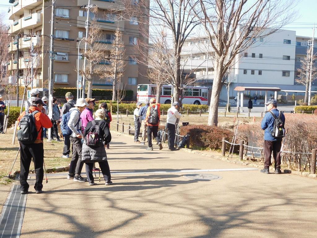 桜台公園は久し振りに訪れました