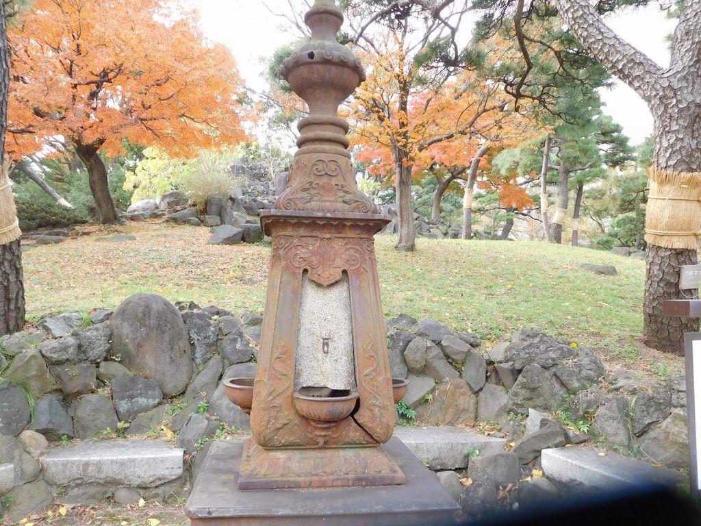 世田谷公園 馬の水飲み場