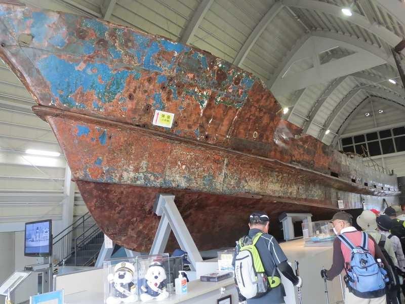 意外と大きい工作船にビックリ!!  保安庁の説明を聞き更にビックリ