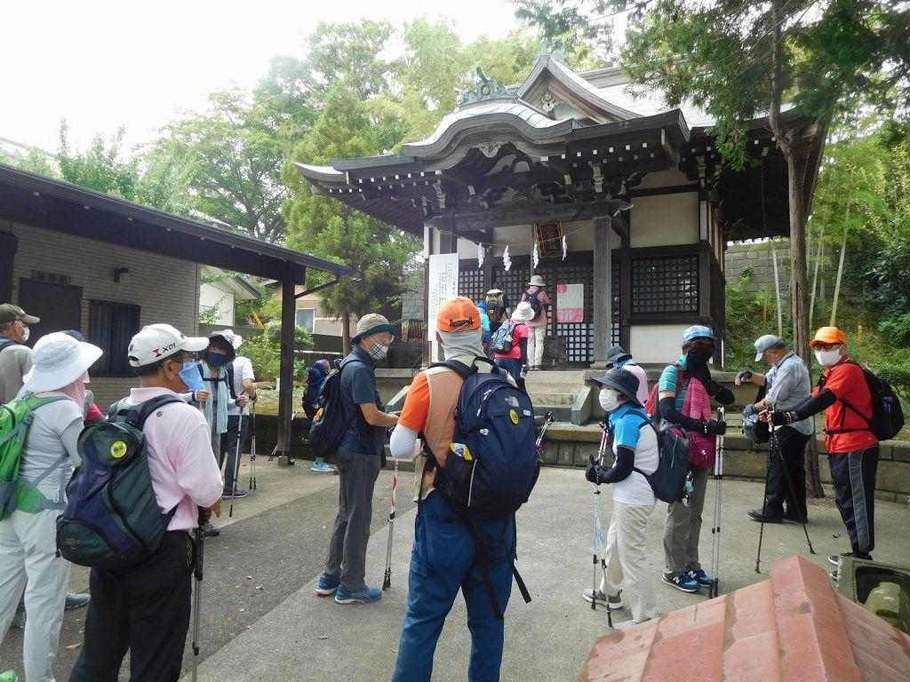 八雲神社参拝