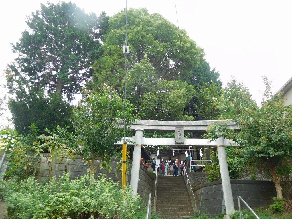 八雲神社の全景