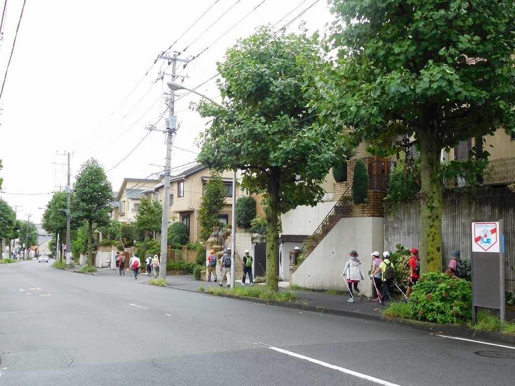 荏田北周辺住宅地を歩く