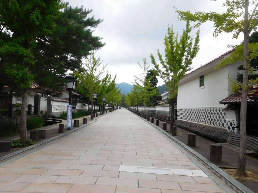 津和野の町並 綺麗ですね