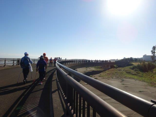 神奈川・宮崎組の皆さん楽しく歩いてますか?