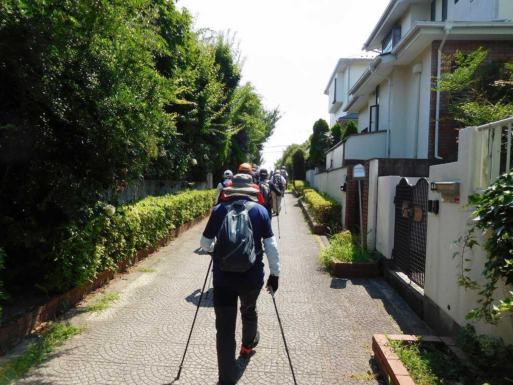 泉田向公園から鴨池公園を目指す