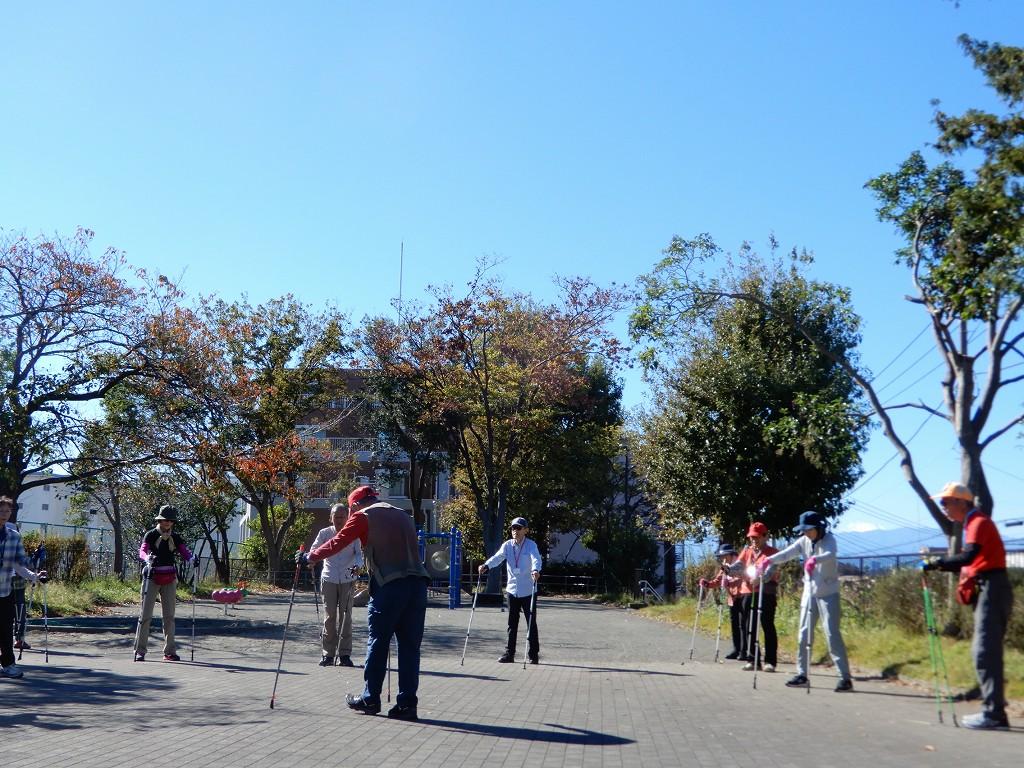 市ヶ尾第二公園からも富士山が望めます