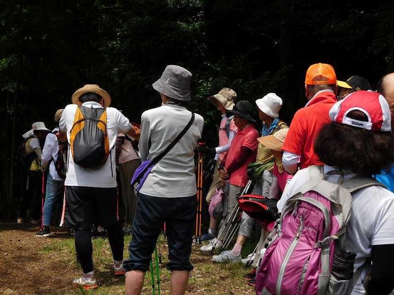 折田不動公園の頂きで休憩 坂道が厳しかったでか?