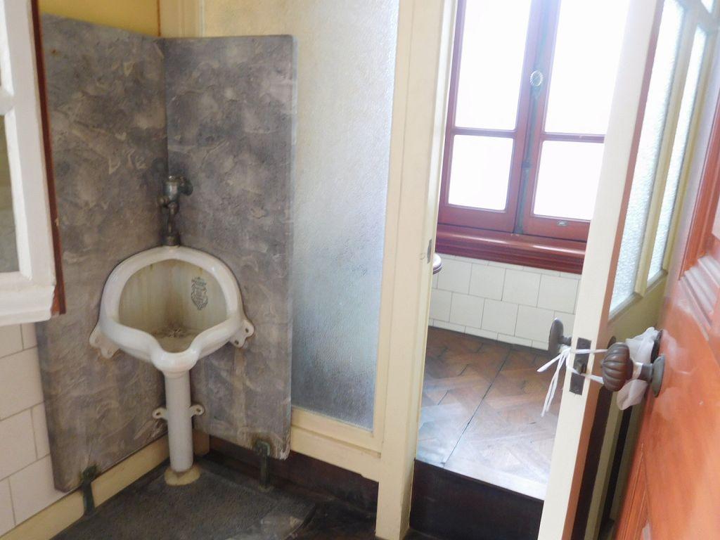 同上 日本初の水洗トイレ