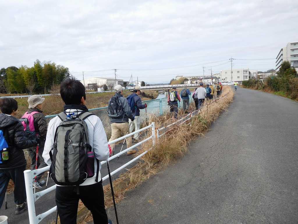 青葉スポーツから鶴見川をウォーキング
