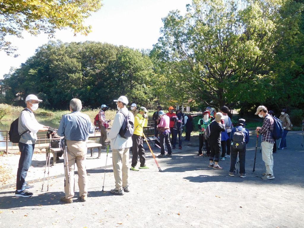 もえぎの公園で二班と合流