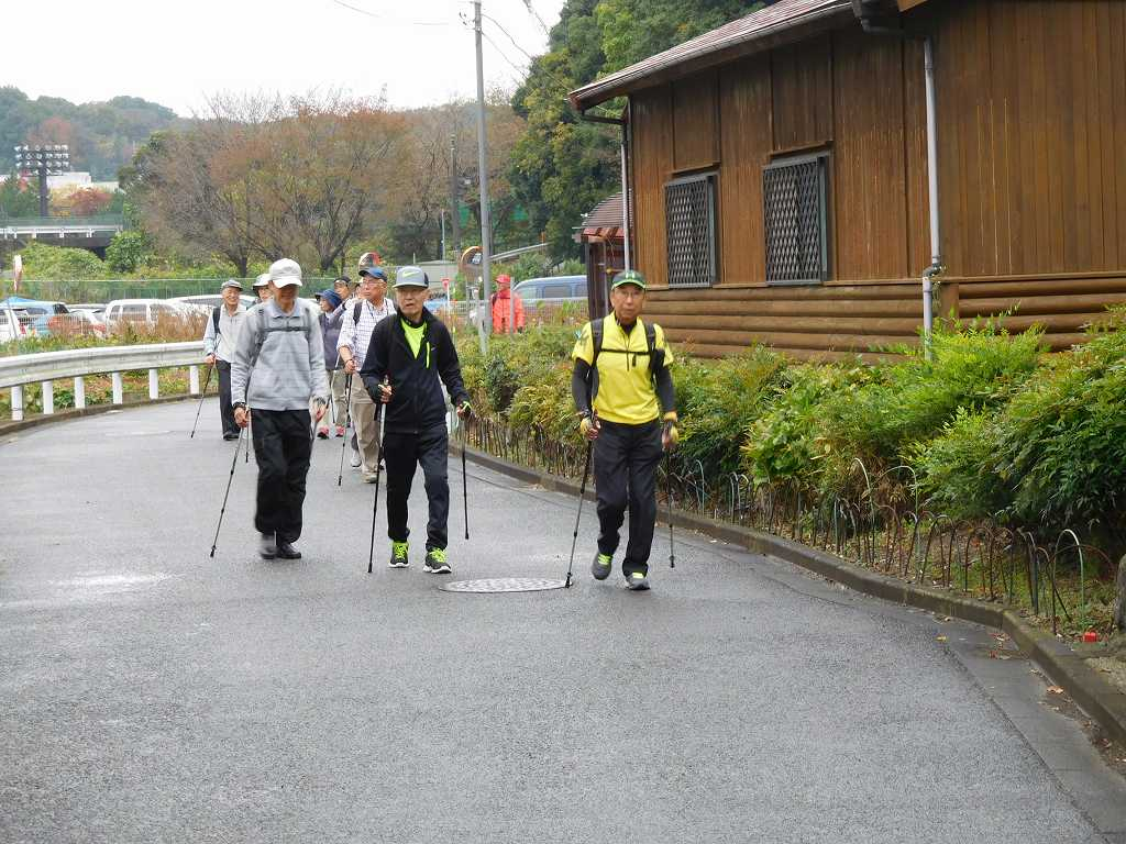 本日参加の最高齢者(86歳)お二人も元気であるいておられます