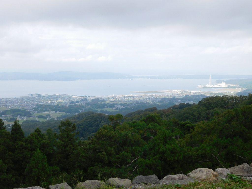 山城のため眺望が良い