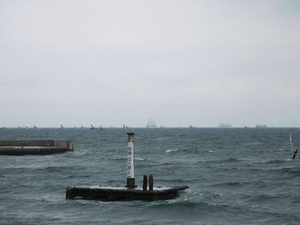 海は風強し