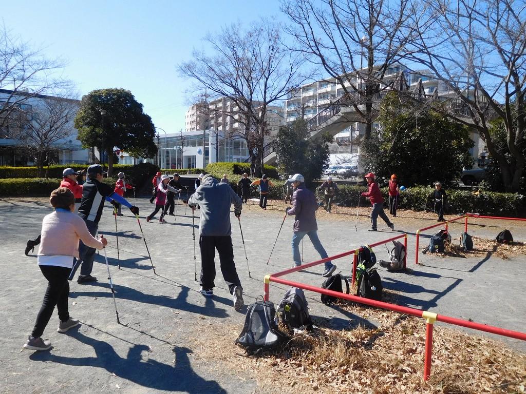 赤田東公園で初めてのクールダウン