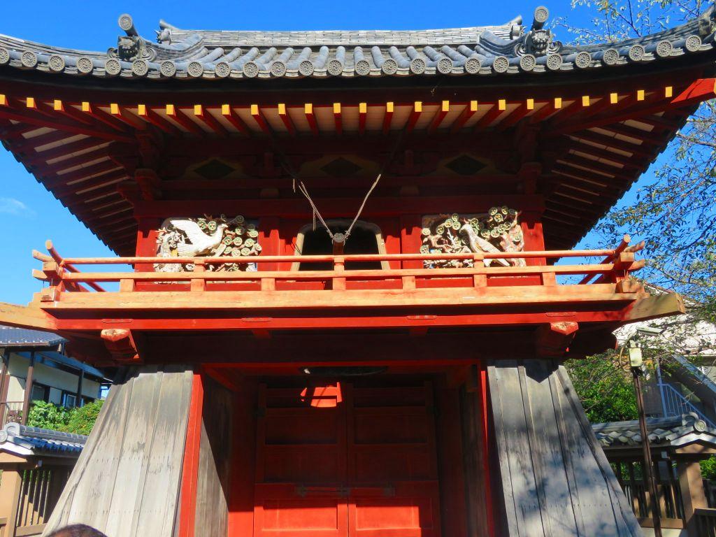 国指定重要文化財 鐘楼門
