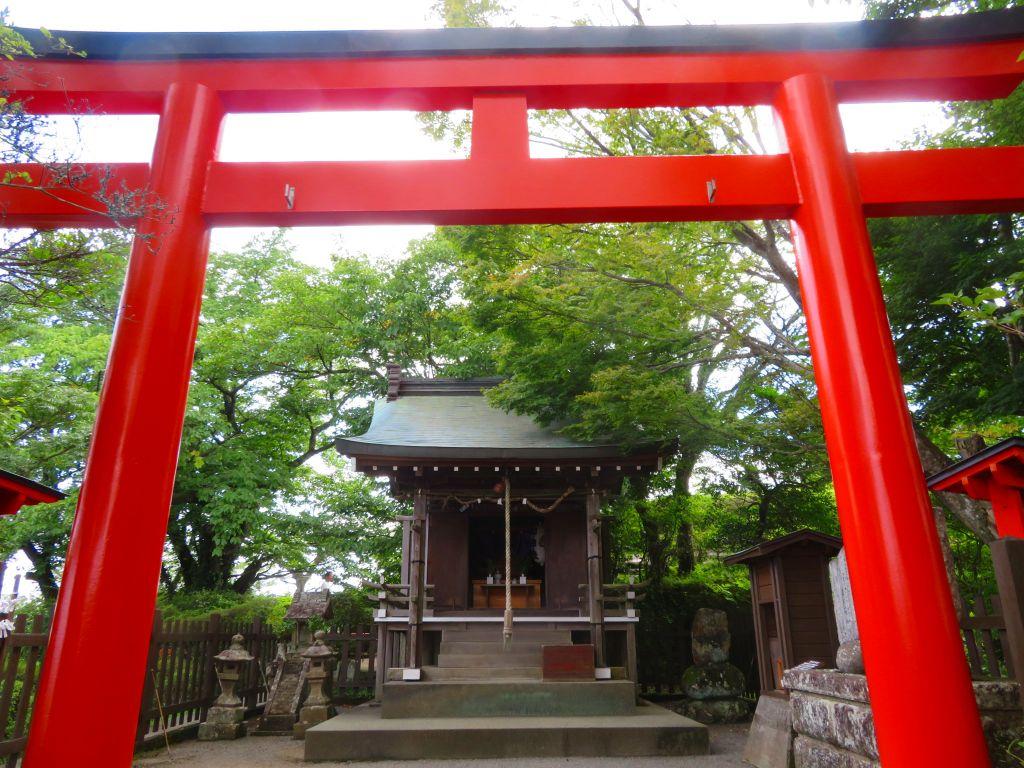 山頂の葛城神社