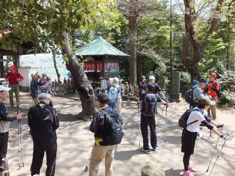 眺めの良い宗泉禅寺で小休止