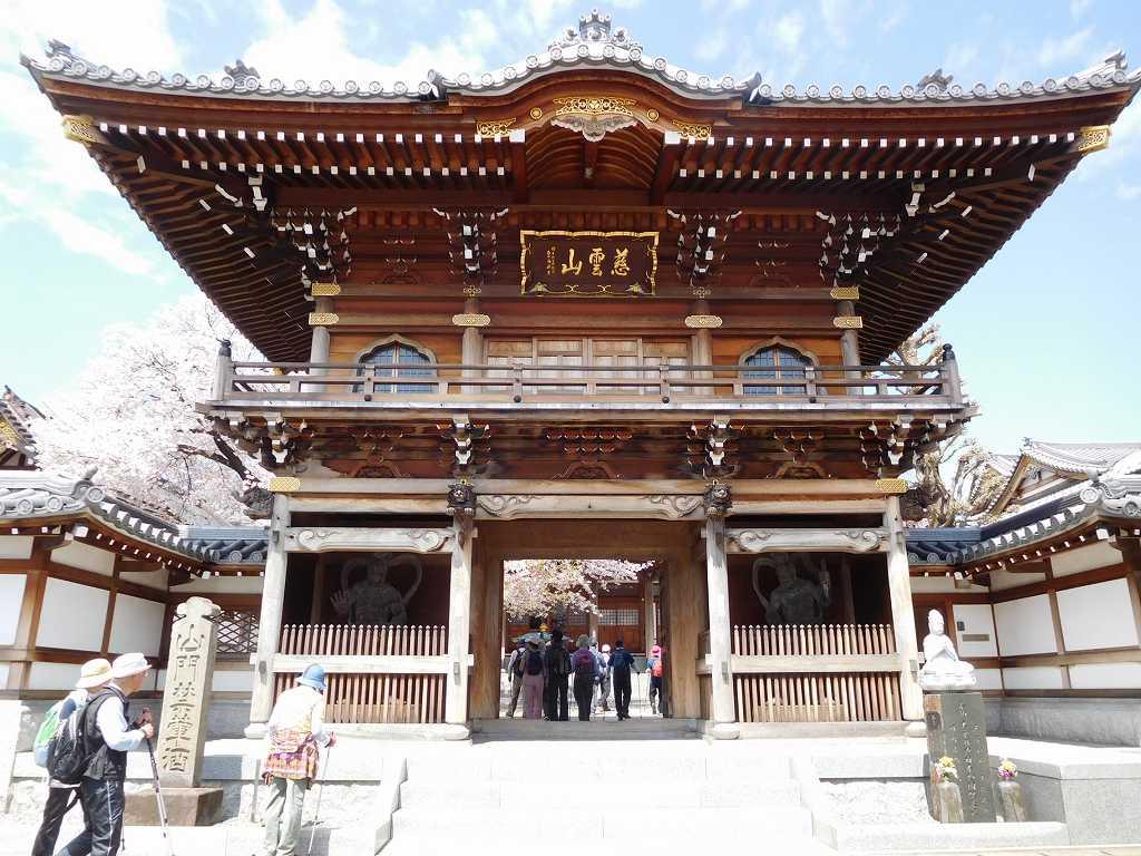 大林寺到着です