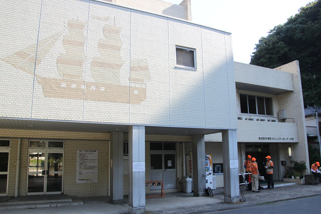 受付場所は浦賀コミュニテイセンターで行う