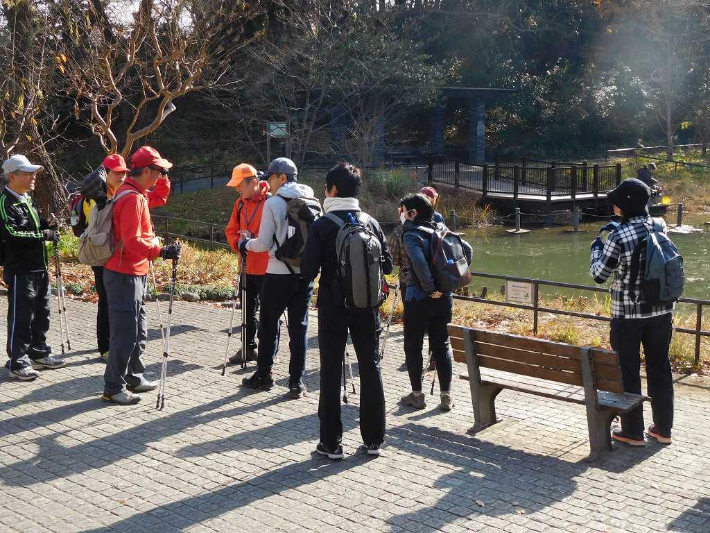 藤ヶ丘公園で休憩