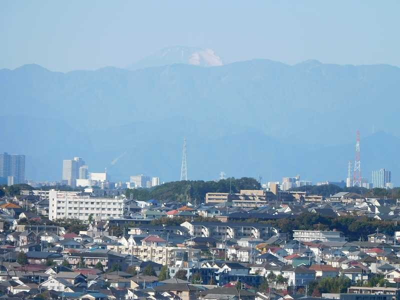 富士山が見える絶好のNW日和