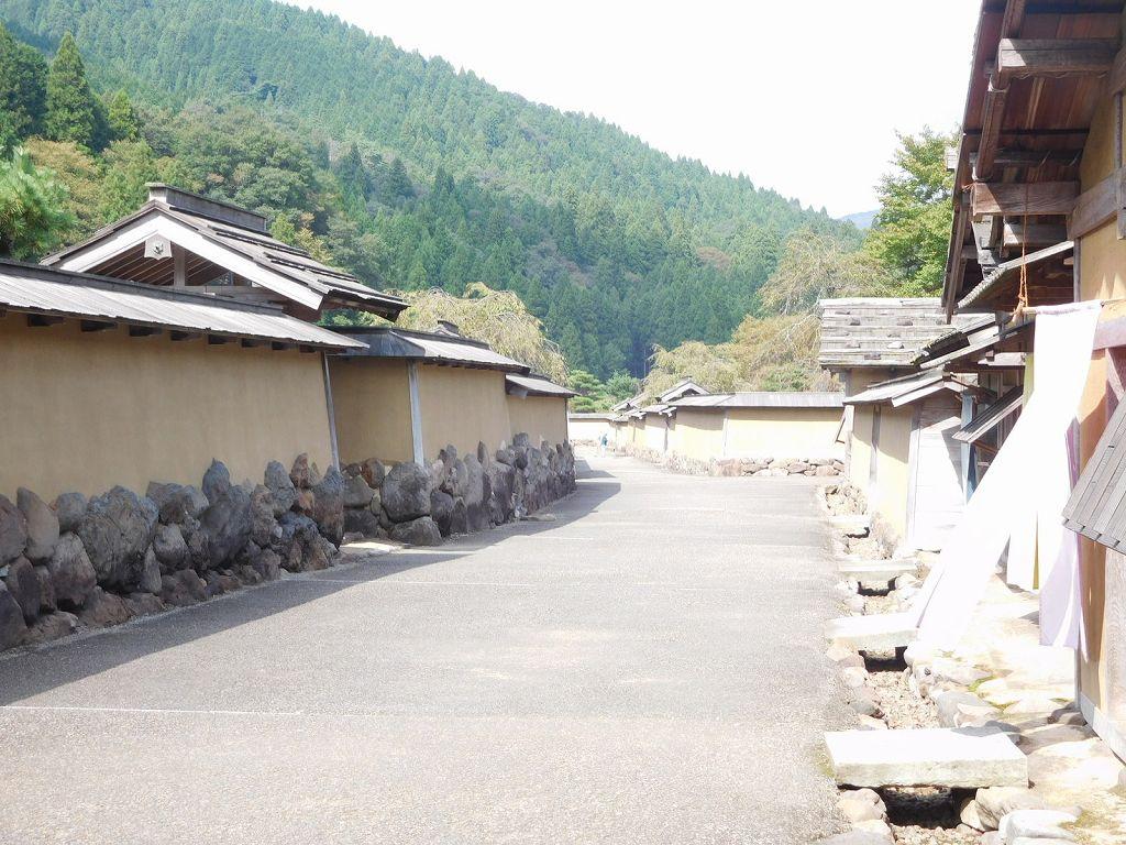 朝倉の山城と城下町がある一乗谷城下の屋敷