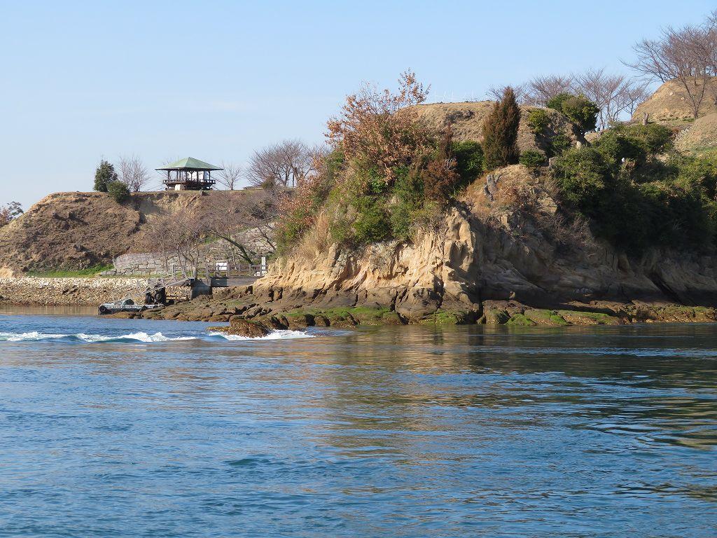 能島海賊の拠点能島城