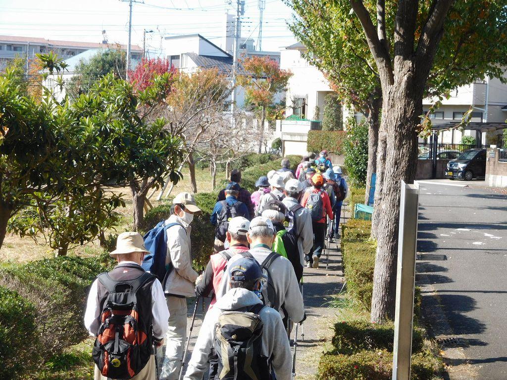 折田不動公園からとちの木公園へ進んで行きます
