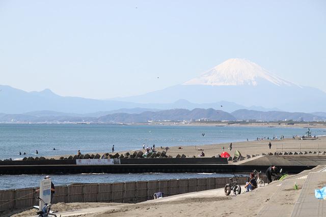 富士山もしっかり見えています