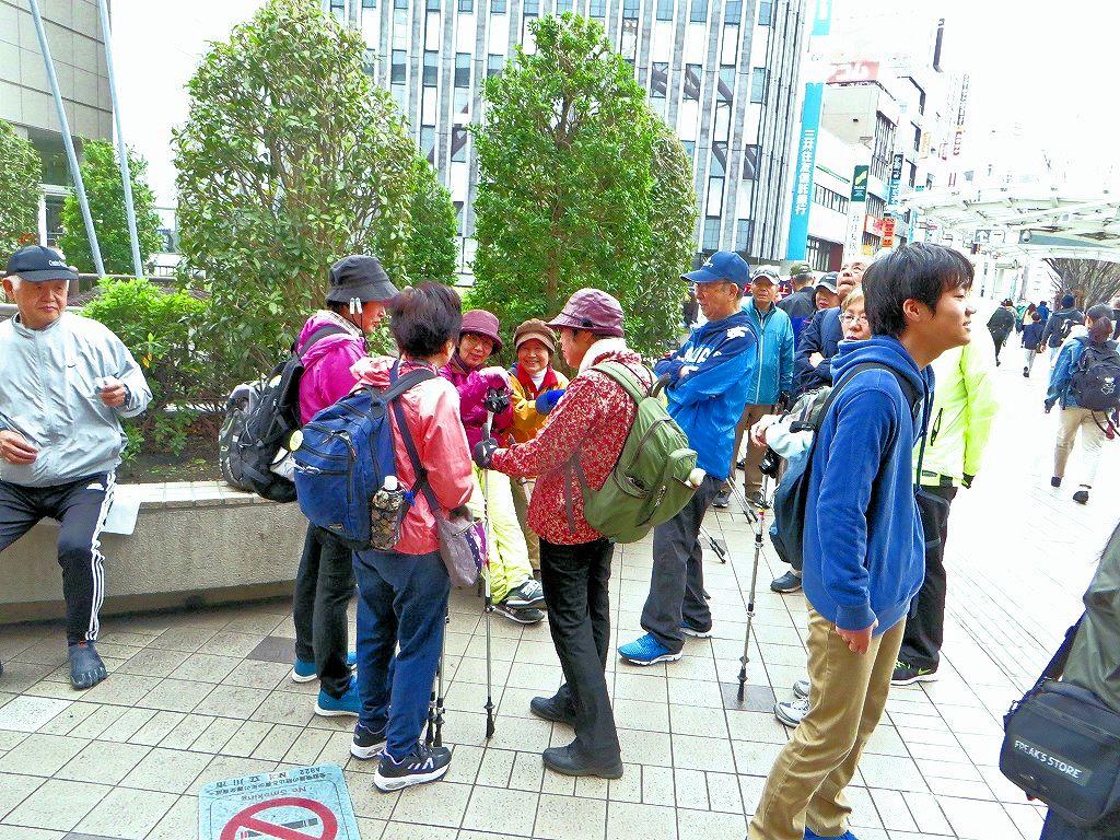 立川駅 集合