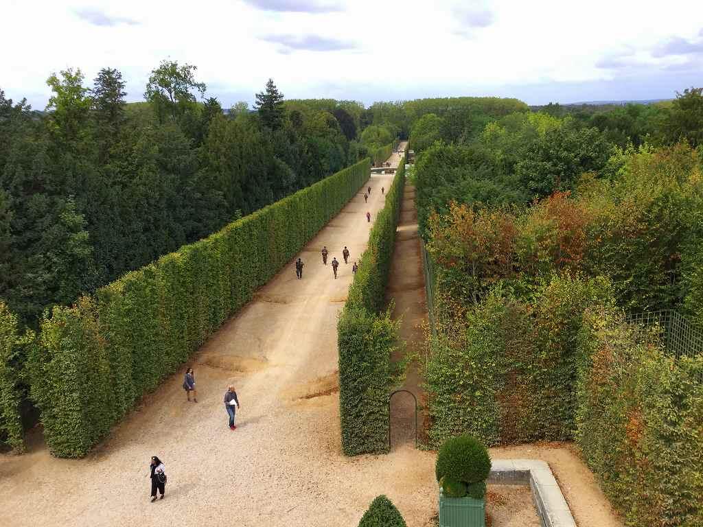 ヴェルサイユ宮殿の庭 2