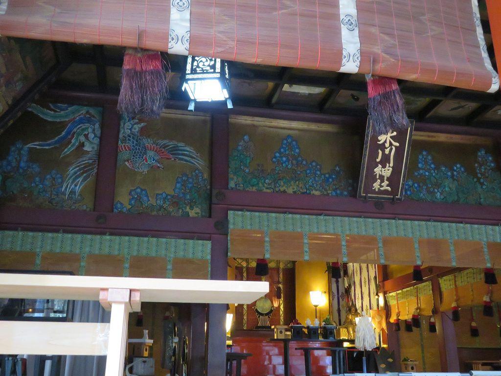 赤穂朝野家屋敷で瑤泉院(生前は阿久里)の実家の氷川神社