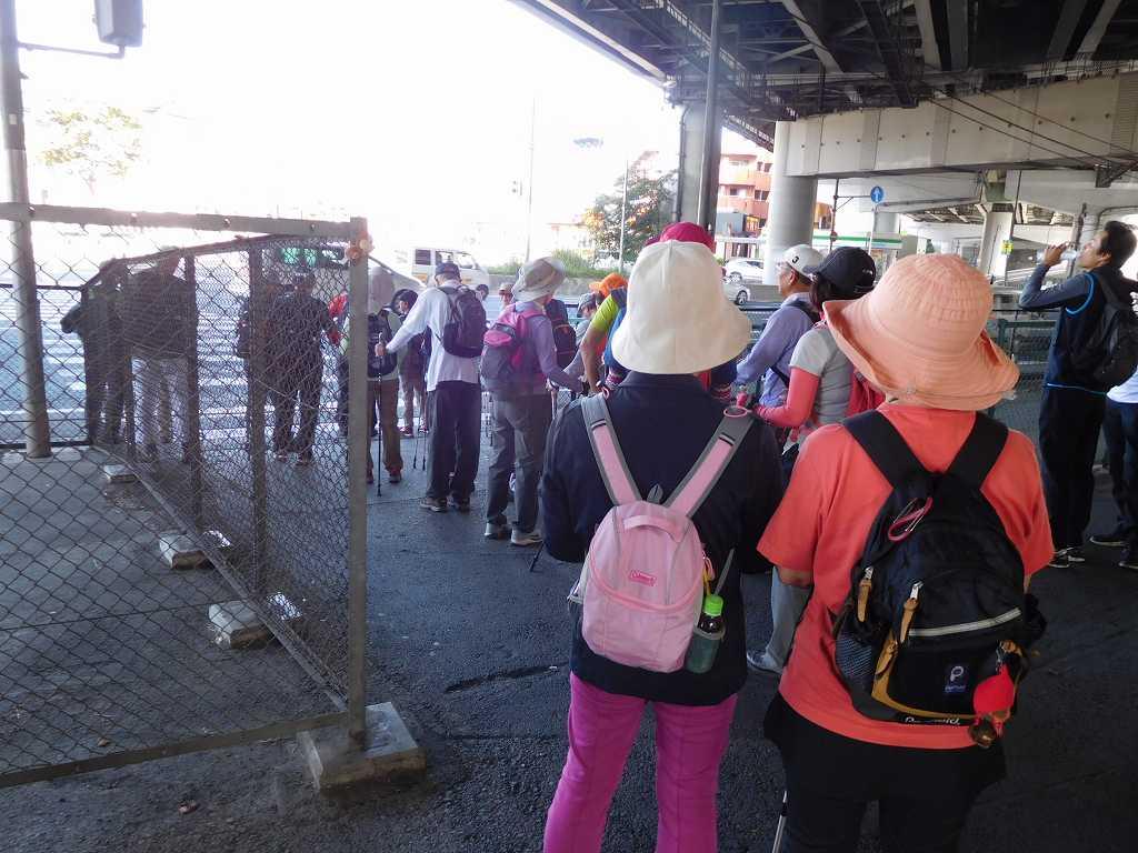 江田駅前246号の信号待ち