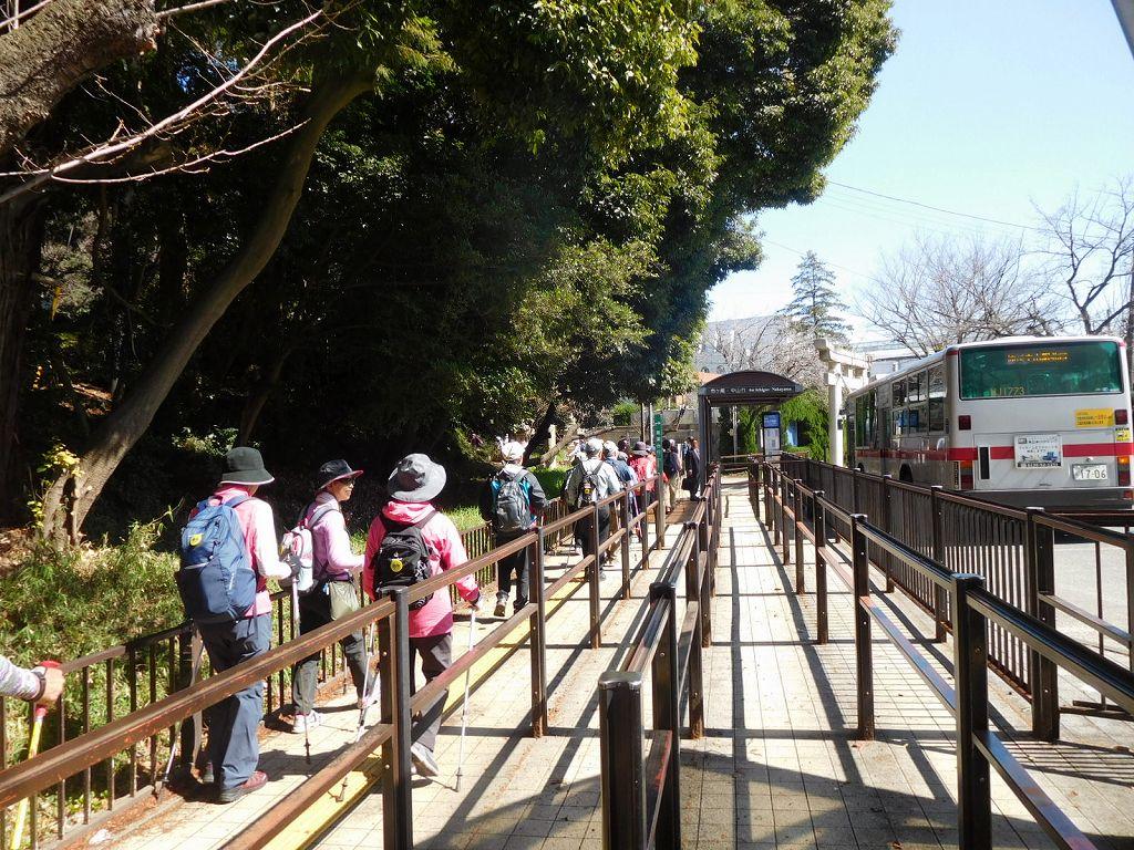 桐蔭学園 バス終点です