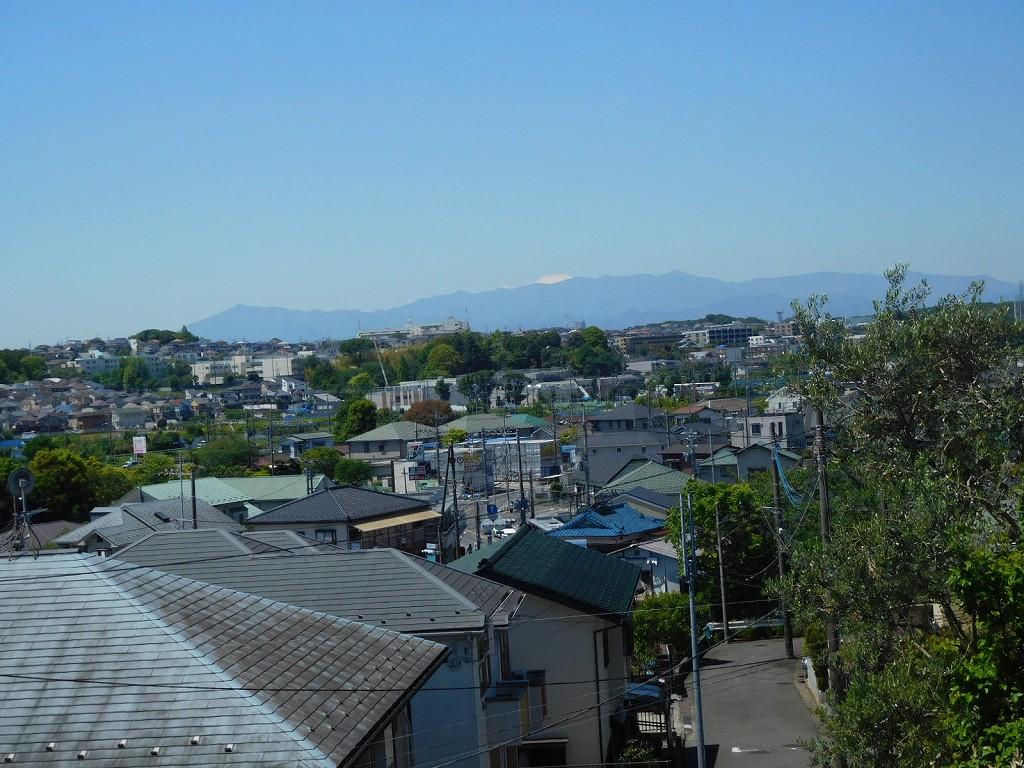 階段の上から富士山も綺麗に見えていますよ