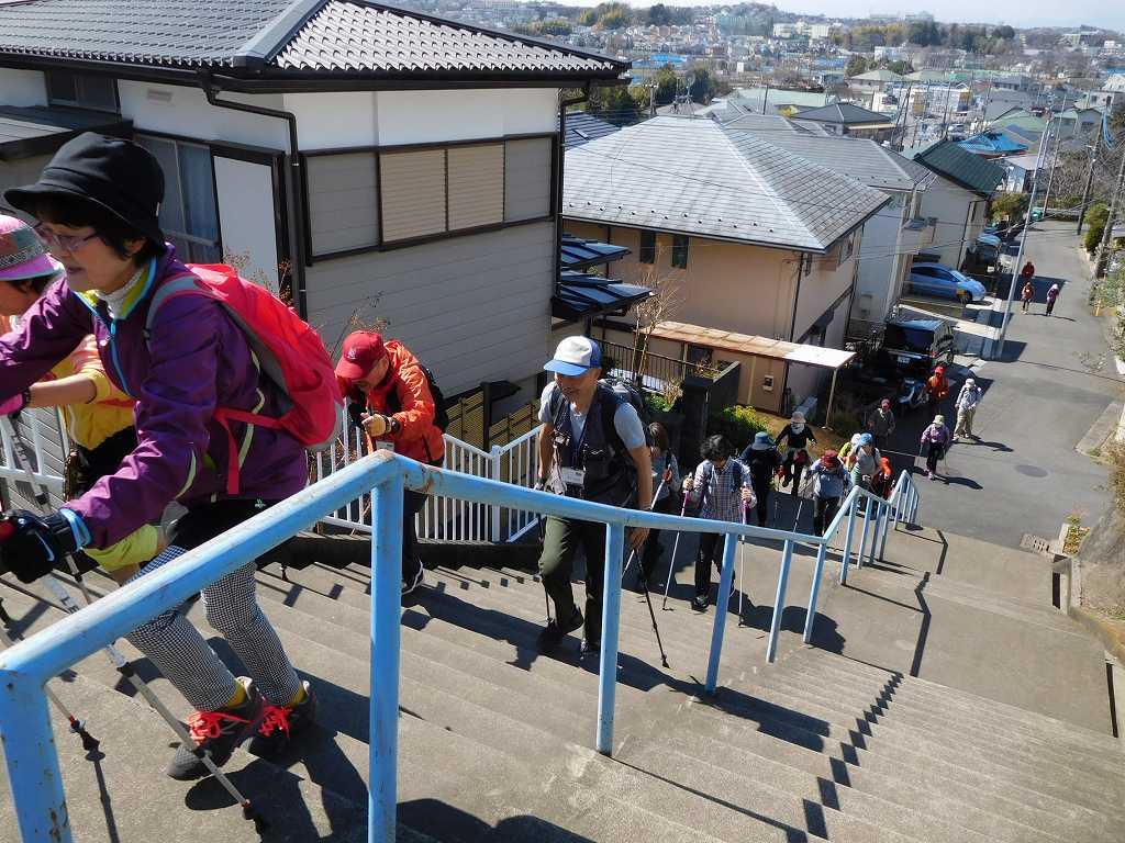 黒須田川から住宅地へと歩きます
