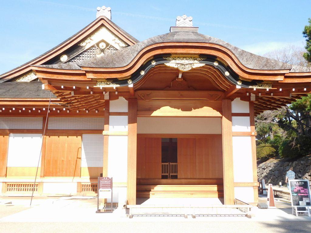 本丸御殿の玄関