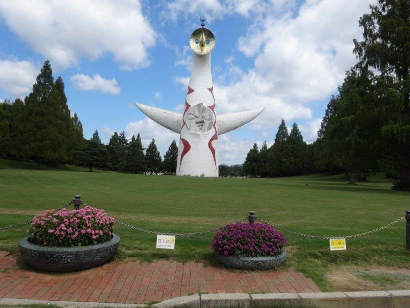 「太陽の塔」デザイナー岡本太郎氏は川崎市高津出身ですよ