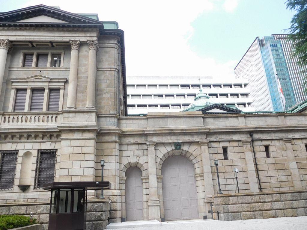 辰野金吾設計 日本銀行 建物全容