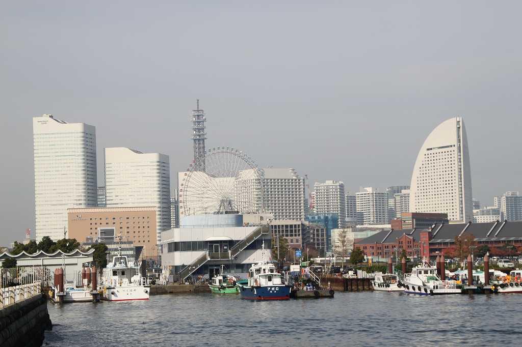 横浜を表す景観ですね ここの眺めが本当に横浜らしい(私見)
