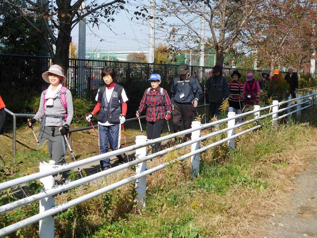 谷本公園から鶴見川沿いへ