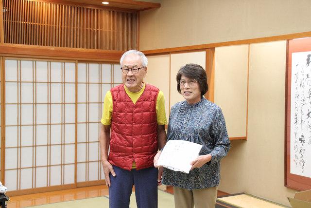 永年継続会員表彰 地元岡谷出身のKさん