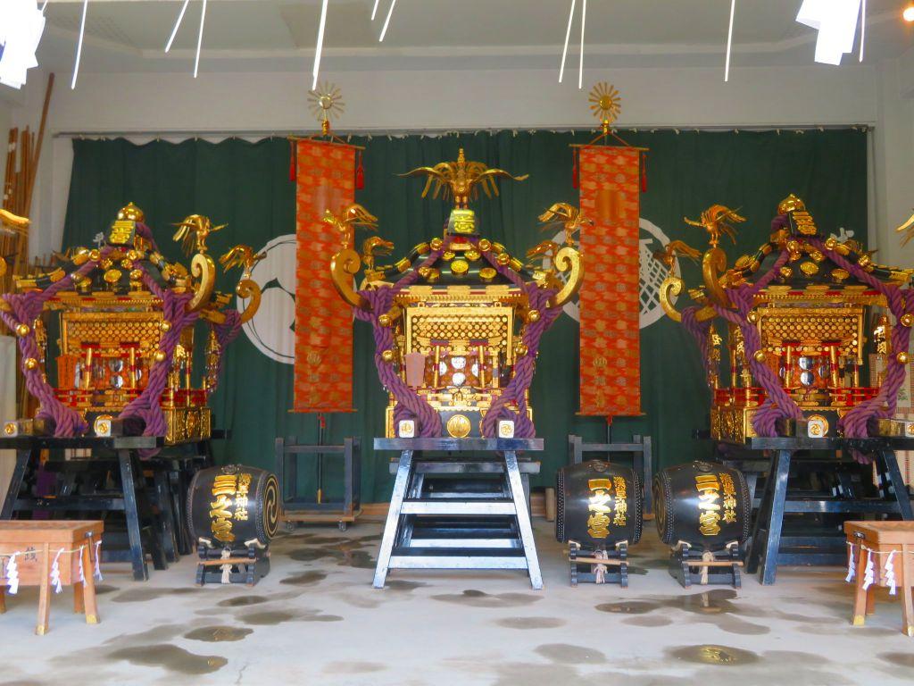 三社の神輿(普段見られず)