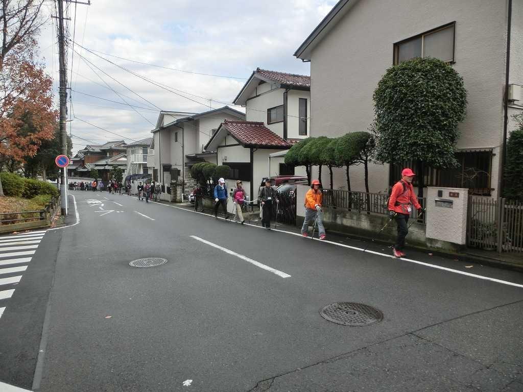 藤ヶ丘第二公園付近の坂道を何時列で!!