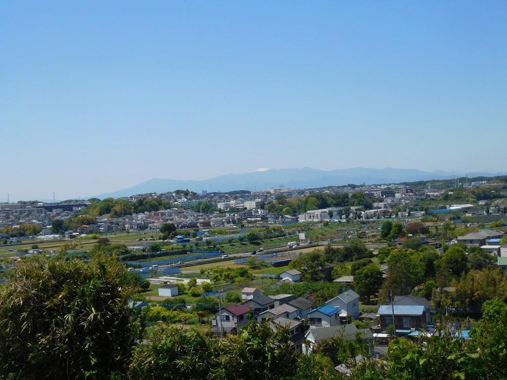 富士山もくっきり見え長津田・こどもの国等も見えます