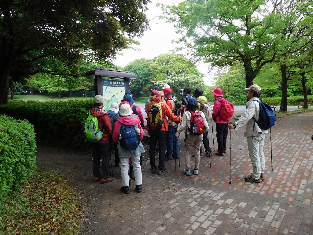 四季の森公園 今はどの辺りを歩いているの?