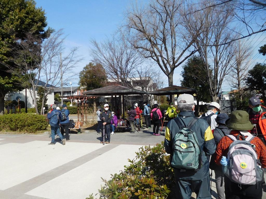 泉田向公園12時3分到着 CDの後 バレンタインチョコ配布しました